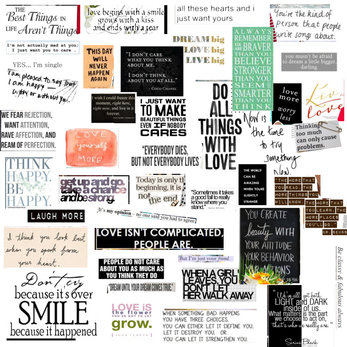 A Personal Collage of Quotes